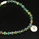 on the sunny side of the street ブレスレット 310-106 turquoise x brass
