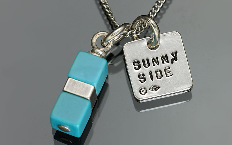 on the sunny side of the street 310-260 Turquoise