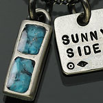 on the sunny side of the street ペンダント ネックレス 710-241 turquoise