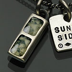 on the sunny side of the street ペンダント ネックレス 710-241 white turquoise