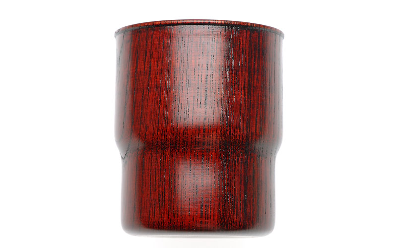 on the sunny side of the street Stacking Tumbler Red
