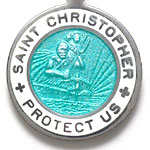 St.Christopher セント クリストファー スモール seagreen-white