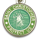 St.Christopher セント クリストファー ブレスレット mint lime